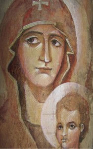 Theotokos_Icon_on_ italian_roof_tile_Anna_Edelman_WindowIntoHeaven_3